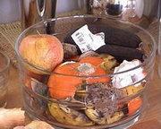 Zkažené potraviny do drtiče